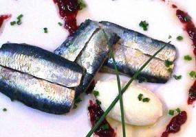 Filetes de Sardina con Tocino a la plancha