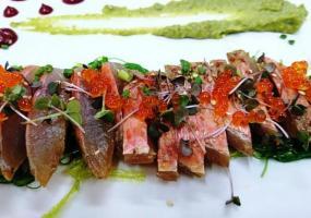 Sashimi de salmonete
