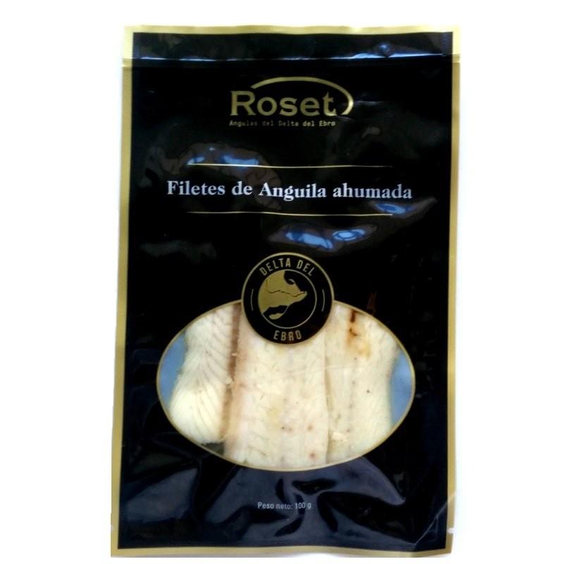 Anguila ahumada Roset 100gr
