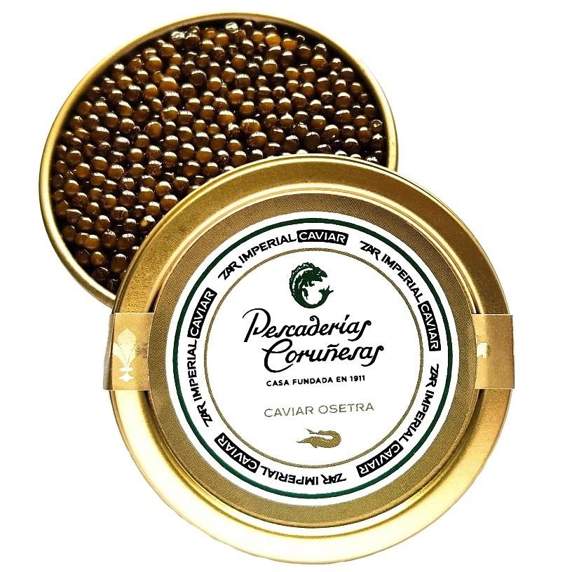 Caviar Osetra Pescaderías Coruñesas 100gr