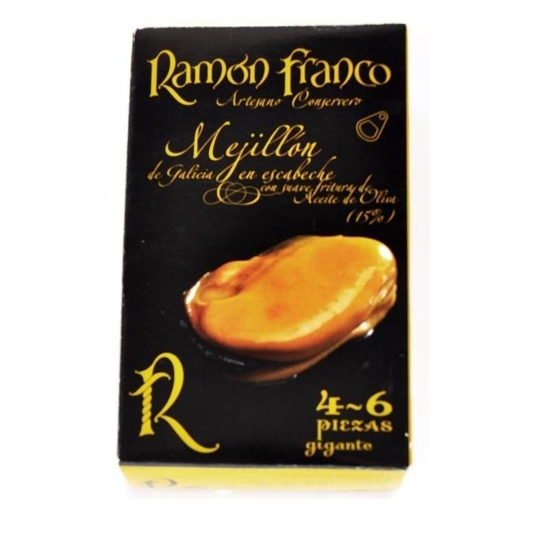 Mejillón escabeche 4/6 pz. Ramón Franco 115gr
