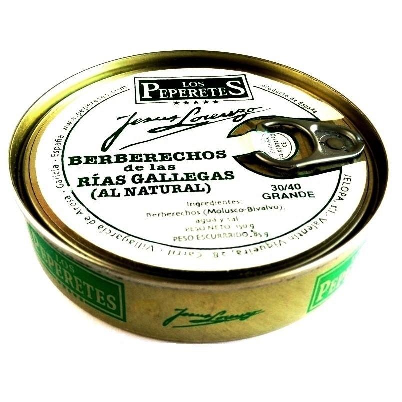 Berberechos 30/40 pz. Los Peperetes 120gr