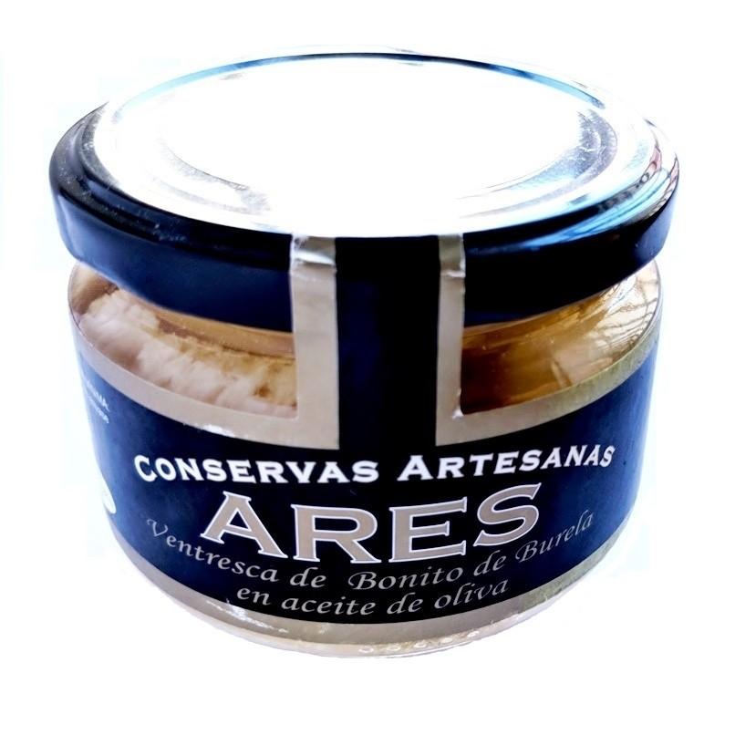 Ventresca de bonito en aceite de oliva Ares 210 gr