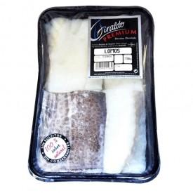 Bacalao desalado lomos Premium Giraldo 1kg aprox.