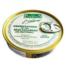 Berberechos 20/30 pz. Los Peperetes 120gr