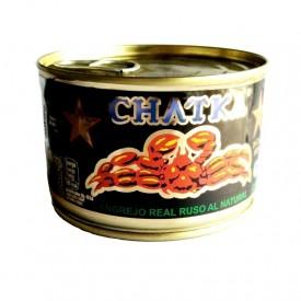 Carne de cangrejo real al natural Chatka 200 gr. (100% patas)
