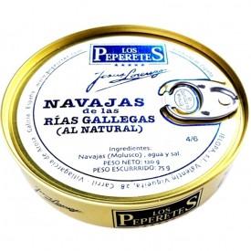 Navajas al natural 4/6 pz. Los Peperetes 120 gr