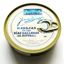 Navajas al natural 6/8 pz. Los Peperetes 150gr