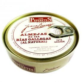 Almejas al natural 16/18 pz. Los Peperetes 150 gr